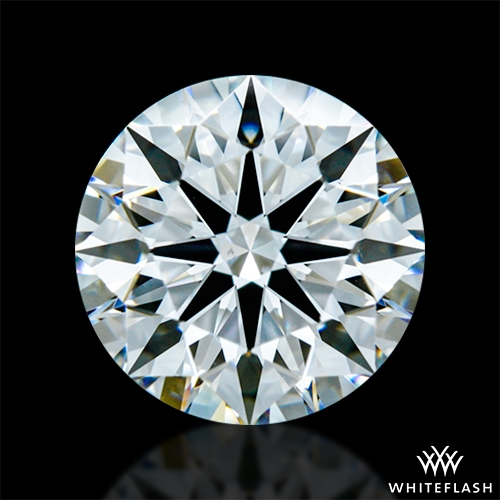 1.308 ct F VS1 A CUT ABOVE® Hearts and Arrows Super Ideal Round Cut Loose Diamond