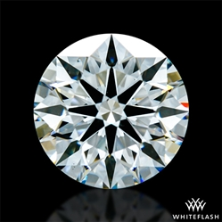 1.411 ct F VS2 A CUT ABOVE® Hearts and Arrows Super Ideal Round Cut Loose Diamond
