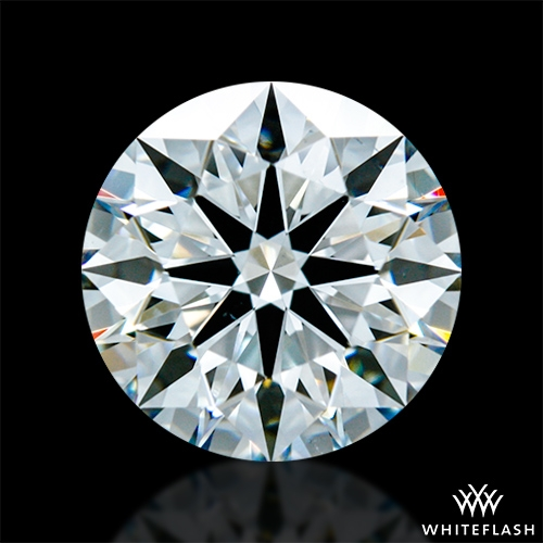 1.371 ct F VS2 A CUT ABOVE® Hearts and Arrows Super Ideal Round Cut Loose Diamond