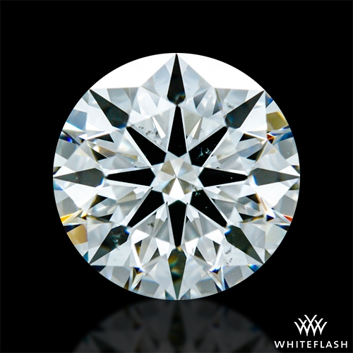 1.448 ct G VS2 A CUT ABOVE® Hearts and Arrows Super Ideal Round Cut Loose Diamond