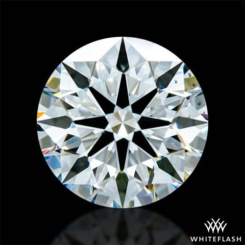 1.238 ct G VS2 A CUT ABOVE® Hearts and Arrows Super Ideal Round Cut Loose Diamond
