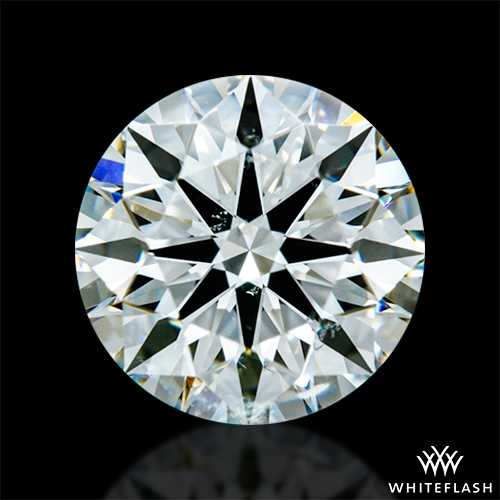 1.351 ct I SI1 A CUT ABOVE® Hearts and Arrows Super Ideal Round Cut Loose Diamond