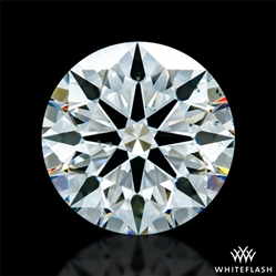1.436 ct H VS2 A CUT ABOVE® Hearts and Arrows Super Ideal Round Cut Loose Diamond