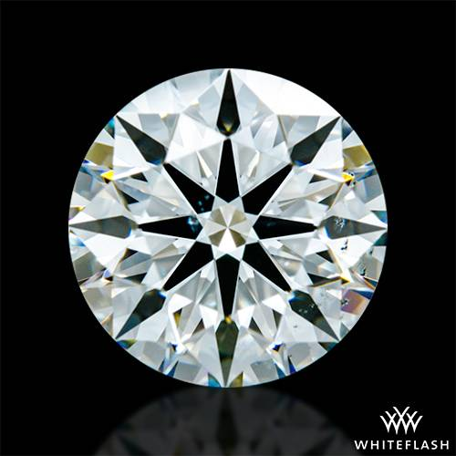 1.238 ct I SI1 A CUT ABOVE® Hearts and Arrows Super Ideal Round Cut Loose Diamond