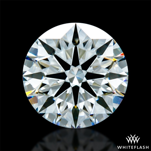 0.924 ct H VVS2 A CUT ABOVE® Hearts and Arrows Super Ideal Round Cut Loose Diamond