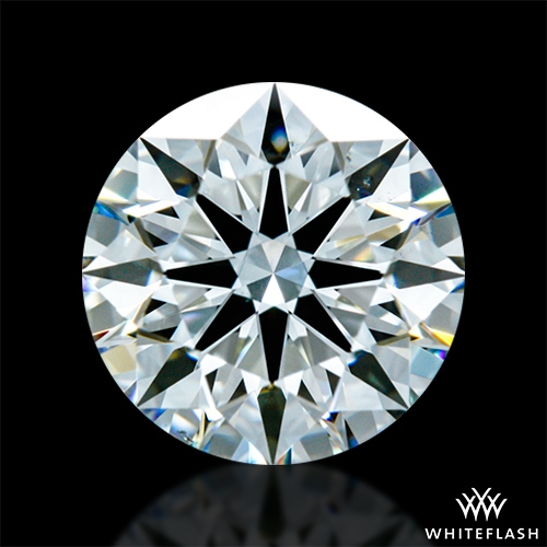 0.913 ct H VS2 A CUT ABOVE® Hearts and Arrows Super Ideal Round Cut Loose Diamond