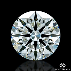 0.918 ct I VS2 A CUT ABOVE® Hearts and Arrows Super Ideal Round Cut Loose Diamond