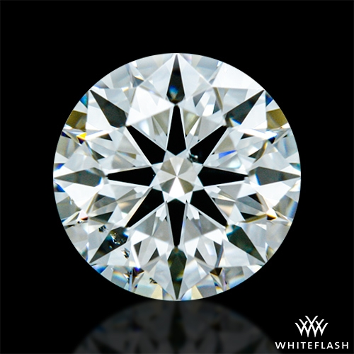 0.727 ct G SI1 A CUT ABOVE® Hearts and Arrows Super Ideal Round Cut Loose Diamond