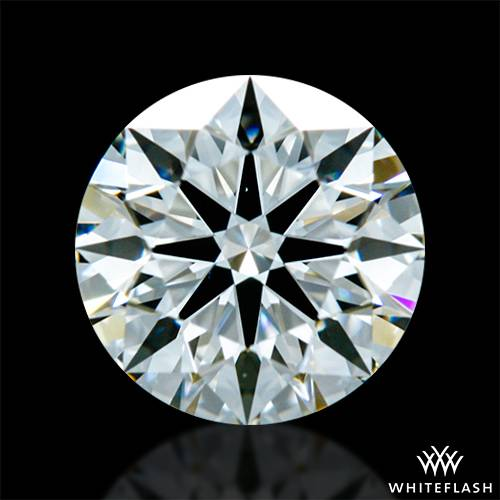 0.845 ct H VVS1 A CUT ABOVE® Hearts and Arrows Super Ideal Round Cut Loose Diamond