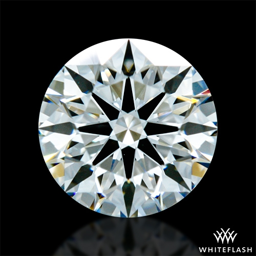 0.825 ct H VS1 A CUT ABOVE® Hearts and Arrows Super Ideal Round Cut Loose Diamond