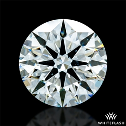0.803 ct H SI1 A CUT ABOVE® Hearts and Arrows Super Ideal Round Cut Loose Diamond