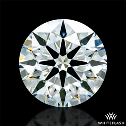 0.638 ct H SI1 A CUT ABOVE® Hearts and Arrows Super Ideal Round Cut Loose Diamond