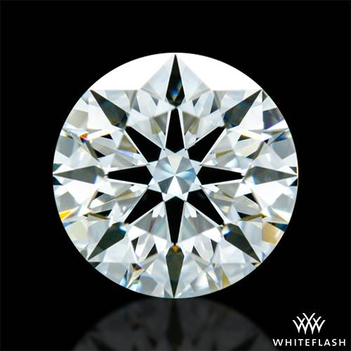 0.646 ct J VS2 A CUT ABOVE® Hearts and Arrows Super Ideal Round Cut Loose Diamond