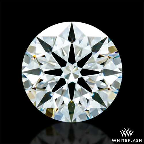0.616 ct I SI1 A CUT ABOVE® Hearts and Arrows Super Ideal Round Cut Loose Diamond