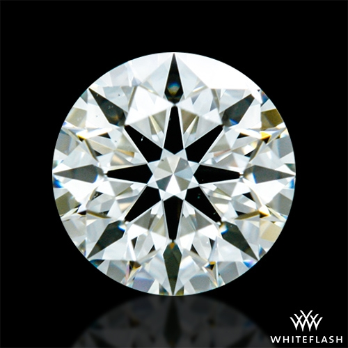 0.522 ct J VS2 A CUT ABOVE® Hearts and Arrows Super Ideal Round Cut Loose Diamond
