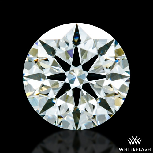 0.501 ct J SI1 A CUT ABOVE® Hearts and Arrows Super Ideal Round Cut Loose Diamond