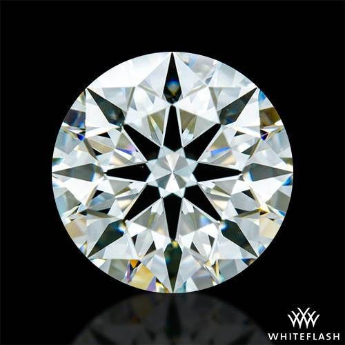 1.237 ct I VS2 A CUT ABOVE® Hearts and Arrows Super Ideal Round Cut Loose Diamond