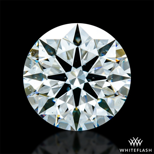 0.773 ct G SI1 A CUT ABOVE® Hearts and Arrows Super Ideal Round Cut Loose Diamond