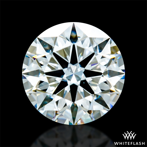 0.62 ct H SI1 A CUT ABOVE® Hearts and Arrows Super Ideal Round Cut Loose Diamond