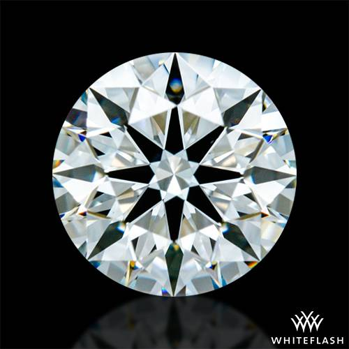 0.706 ct J VS2 A CUT ABOVE® Hearts and Arrows Super Ideal Round Cut Loose Diamond