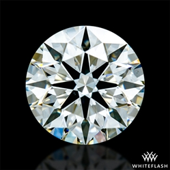 0.707 ct J VS2 A CUT ABOVE® Hearts and Arrows Super Ideal Round Cut Loose Diamond
