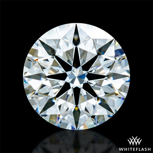 0.718 ct H VS1 A CUT ABOVE® Hearts and Arrows Super Ideal Round Cut Loose Diamond