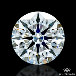 0.72 ct H SI1 A CUT ABOVE® Hearts and Arrows Super Ideal Round Cut Loose Diamond