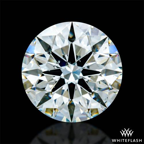 0.768 ct H VS2 A CUT ABOVE® Hearts and Arrows Super Ideal Round Cut Loose Diamond