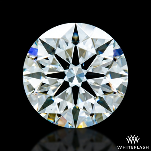 0.795 ct H VS2 A CUT ABOVE® Hearts and Arrows Super Ideal Round Cut Loose Diamond