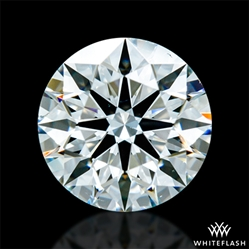 0.797 ct H SI1 A CUT ABOVE® Hearts and Arrows Super Ideal Round Cut Loose Diamond
