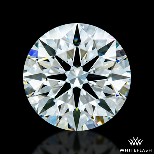 0.796 ct H VVS2 A CUT ABOVE® Hearts and Arrows Super Ideal Round Cut Loose Diamond