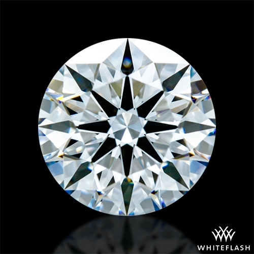 0.811 ct E VS2 A CUT ABOVE® Hearts and Arrows Super Ideal Round Cut Loose Diamond