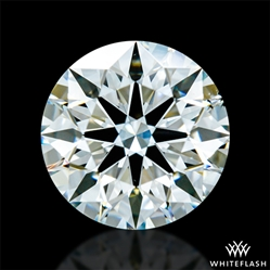 0.833 ct I SI1 A CUT ABOVE® Hearts and Arrows Super Ideal Round Cut Loose Diamond
