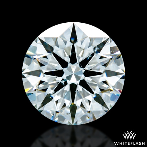 1.266 ct I SI1 A CUT ABOVE® Hearts and Arrows Super Ideal Round Cut Loose Diamond