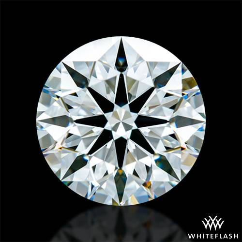 1.282 ct H VS2 A CUT ABOVE® Hearts and Arrows Super Ideal Round Cut Loose Diamond