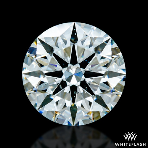 1.311 ct I SI1 A CUT ABOVE® Hearts and Arrows Super Ideal Round Cut Loose Diamond