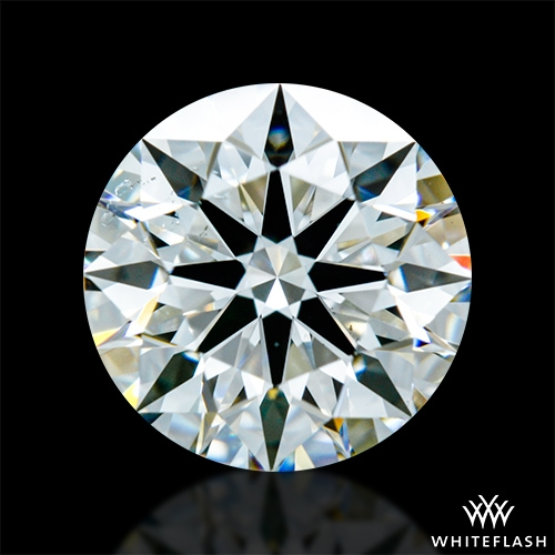1.314 ct J SI1 A CUT ABOVE® Hearts and Arrows Super Ideal Round Cut Loose Diamond