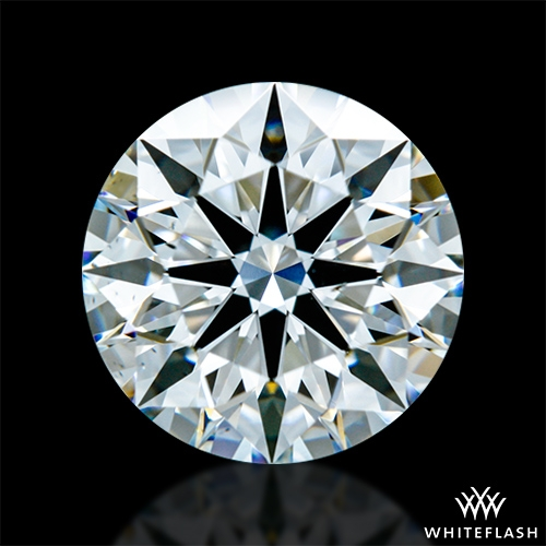 1.343 ct F VS2 A CUT ABOVE® Hearts and Arrows Super Ideal Round Cut Loose Diamond