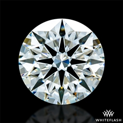 1.363 ct H VS1 A CUT ABOVE® Hearts and Arrows Super Ideal Round Cut Loose Diamond