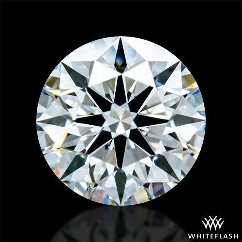 0.32 ct E VVS1 A CUT ABOVE® Hearts and Arrows Super Ideal Round Cut Loose Diamond