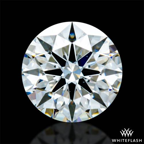 0.326 ct F VVS2 A CUT ABOVE® Hearts and Arrows Super Ideal Round Cut Loose Diamond