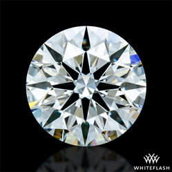 0.427 ct F VVS2 A CUT ABOVE® Hearts and Arrows Super Ideal Round Cut Loose Diamond