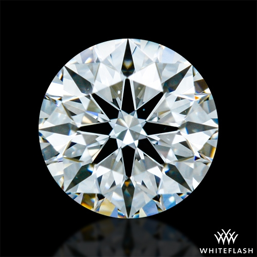 0.422 ct F VS1 A CUT ABOVE® Hearts and Arrows Super Ideal Round Cut Loose Diamond