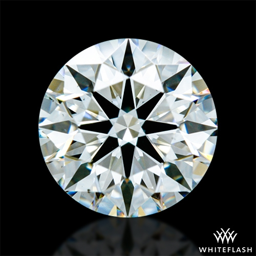 0.418 ct E VVS2 A CUT ABOVE® Hearts and Arrows Super Ideal Round Cut Loose Diamond
