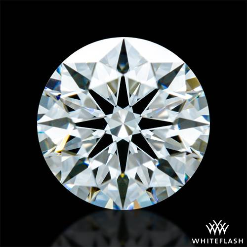 0.523 ct D VVS1 A CUT ABOVE® Hearts and Arrows Super Ideal Round Cut Loose Diamond