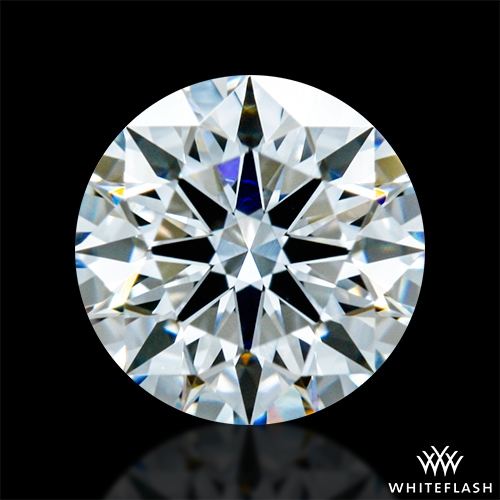 0.593 ct F VVS1 A CUT ABOVE® Hearts and Arrows Super Ideal Round Cut Loose Diamond