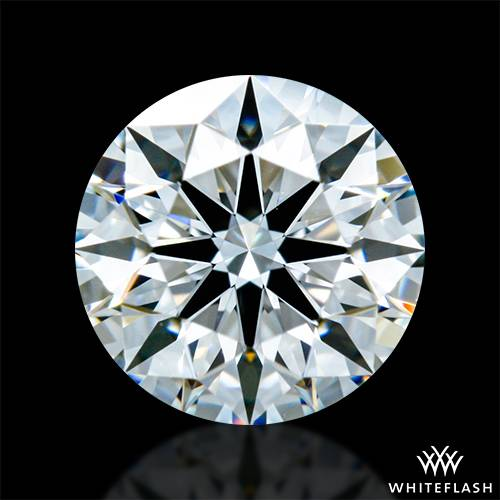 0.722 ct G VVS1 A CUT ABOVE® Hearts and Arrows Super Ideal Round Cut Loose Diamond