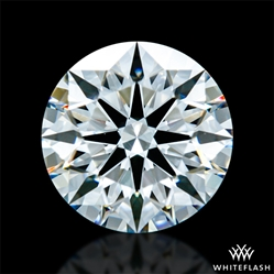 0.827 ct F VVS1 A CUT ABOVE® Hearts and Arrows Super Ideal Round Cut Loose Diamond