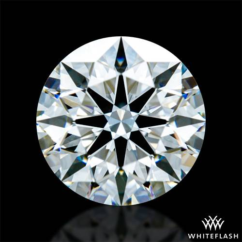 0.848 ct G VS1 A CUT ABOVE® Hearts and Arrows Super Ideal Round Cut Loose Diamond
