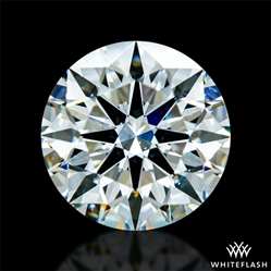 0.963 ct H SI1 A CUT ABOVE® Hearts and Arrows Super Ideal Round Cut Loose Diamond